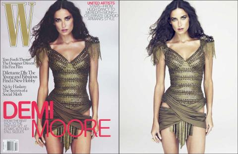 Demi-Moore-copertina-ritoccata-photoshop