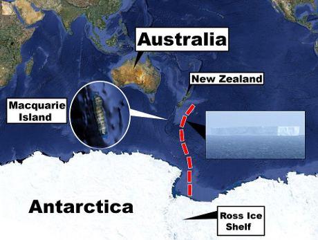 iceberg-antartide-australia-mappa-maquarie-island