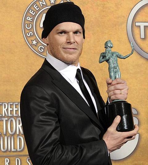 Dexter-Michael-C-Hall-cancro-premiazione-Golden-Globe
