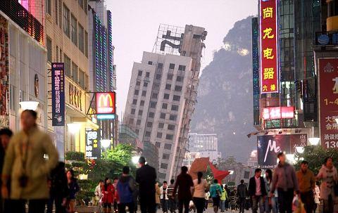 Liuzhou-demolizione-grattacieli-torri-cina-05