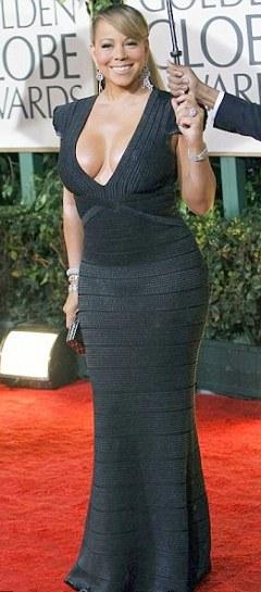 Mariah-Carey-golden-globe-los-angeles