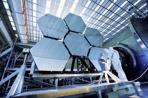 james-webb-telescope-specchi-test