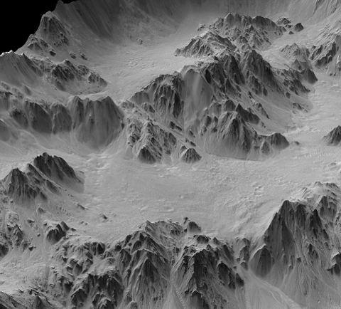 marte-foto-cratere-Mojave-ghiaccio