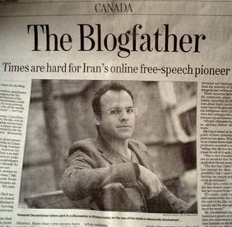 Blogfather-iran-blog-blogger-arrestato-prigione-Hossein-Derakhshan