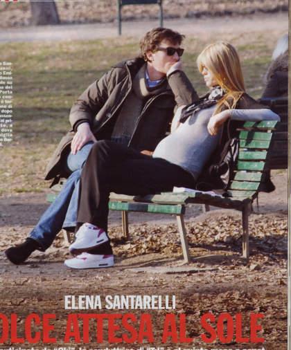 Elena-Santarelli-col-fratello-emiliano-a-spasso