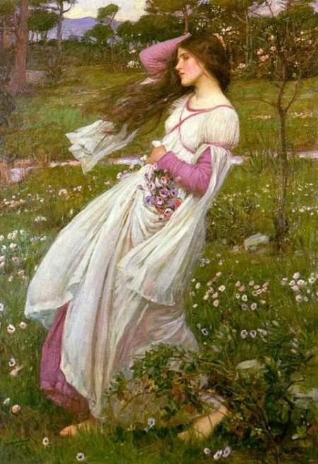 John-William-Waterhouse-Windflower