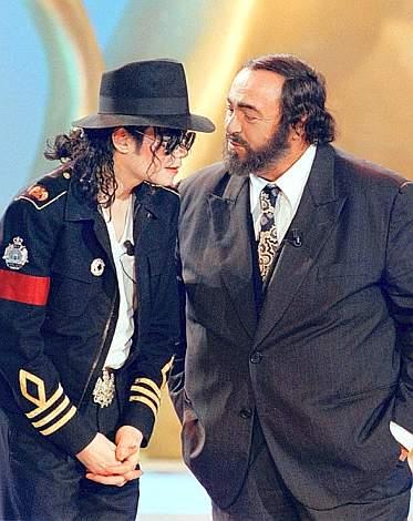 Michael-jackson-Luciano-Pavarotti