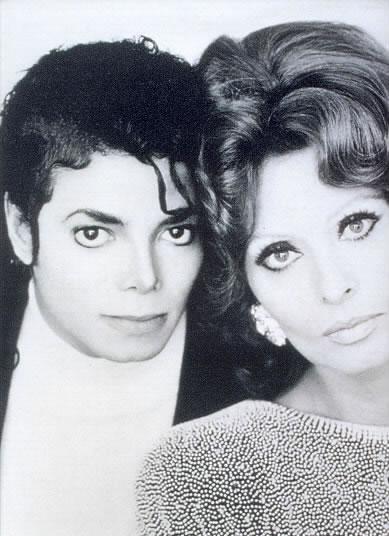 Michael-jackson-Sophia-Loren