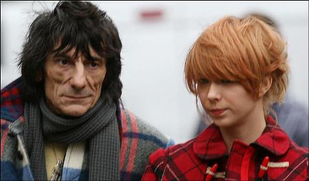 Rolling-Stones-Ronnie-Wood-Ekaterina-Ivanova