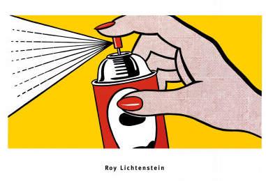 Roy-Lichtenstein-Spray-1962-Posters