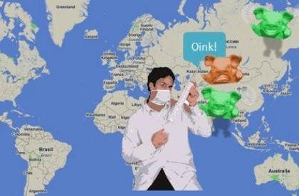 Swinefighter-maiali-influenza-H1N1