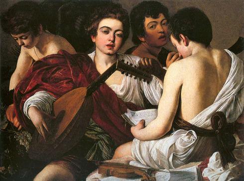 caravaggio-musici