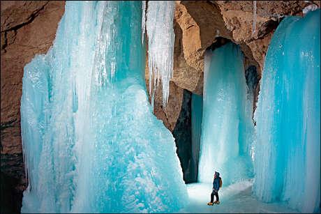 cascate-gelate-austria-ghiaccio