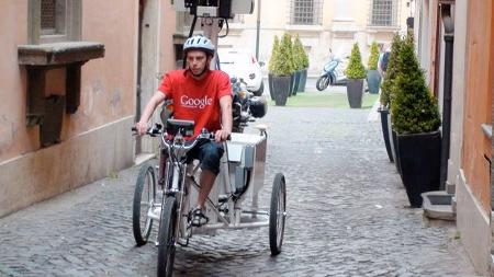 google-streetview-roma-triciclo-centro-storico
