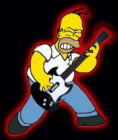 homer-guitar-hero
