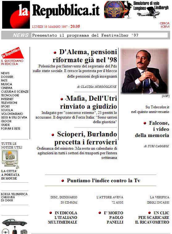 la-repubblica-home-page
