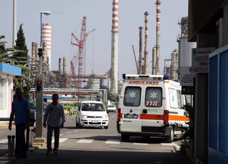 oil-stabilimento-saras-morte-inquinamento