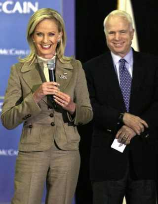 Cindy-John-McCaine-presidenziale-campagna-elezioni