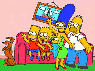 Emilio-Fede-Hollywood-Jovanotti-Luca-Laurenti-Marco Materazzi-Springfield-The Simpsons-TV-serie-nuova