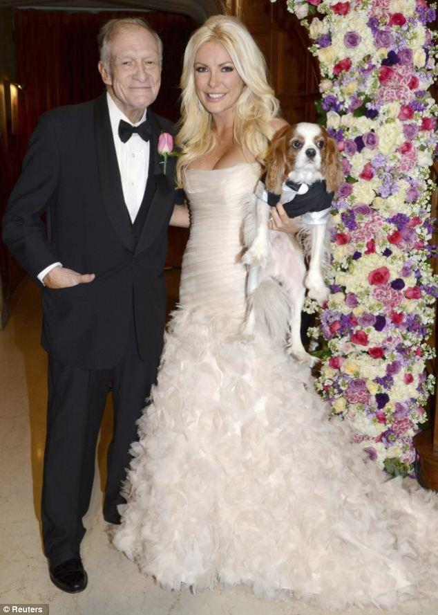 Playboy, Hugh Hefner, foto nozze