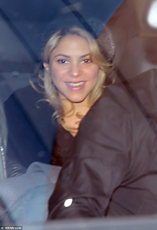 Shakira,bambino, foto, milan  02