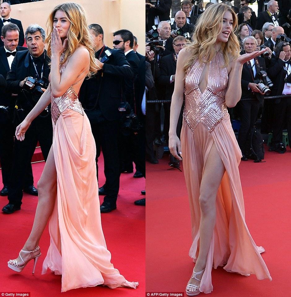 Doutzen Kroes -Festival di Cannes - sexy