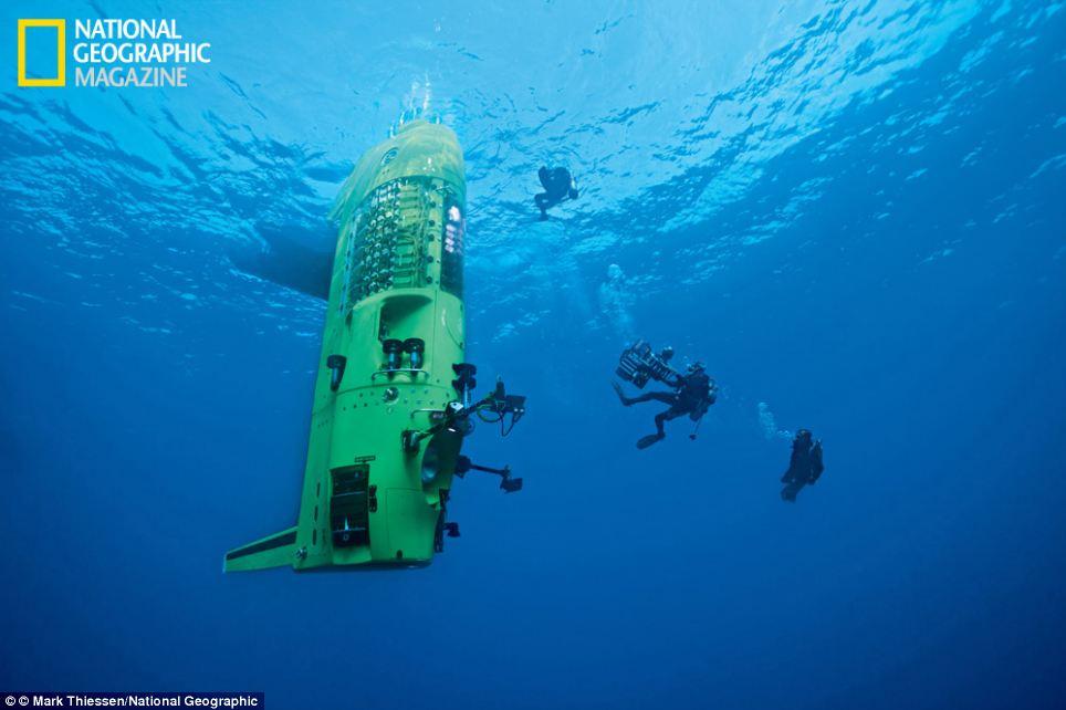 Fossa delle Marianne,James Cameron,Deepsea Challenger