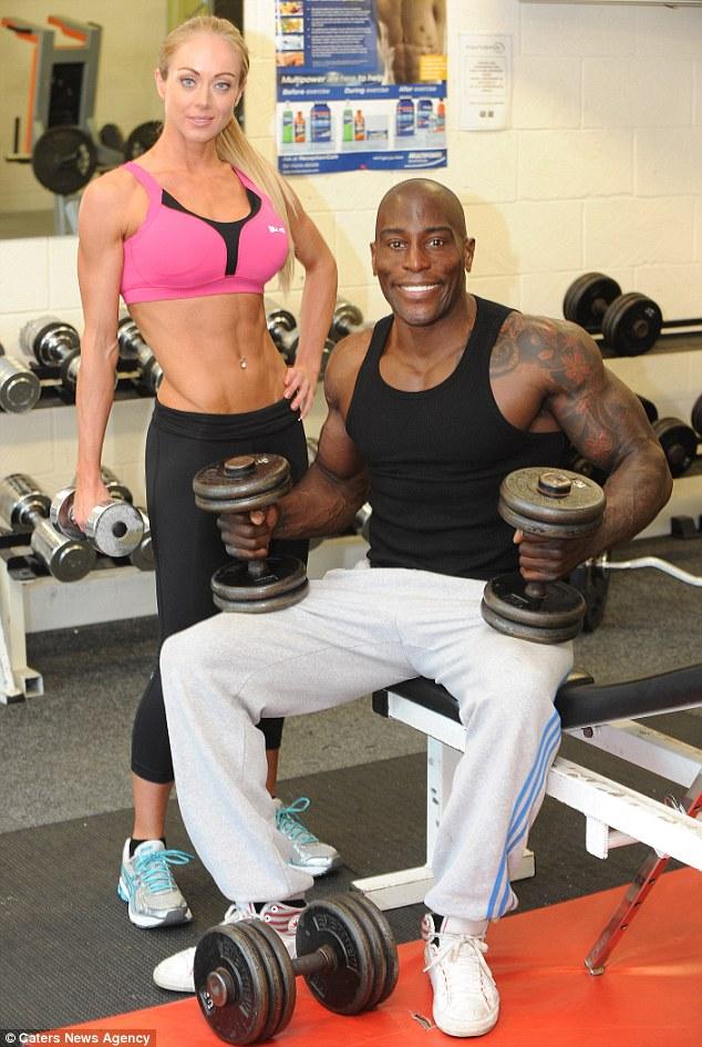 Rosanna Beckett, Don Akim, bodybuilding
