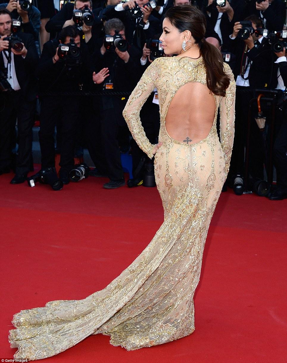 eva longoria Festival di Cannes - sexy2