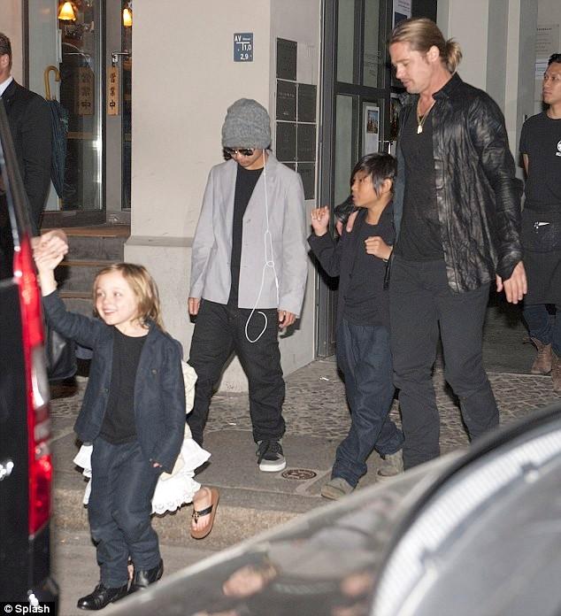 Brad  PItt e Angelina Jolie Angie 01