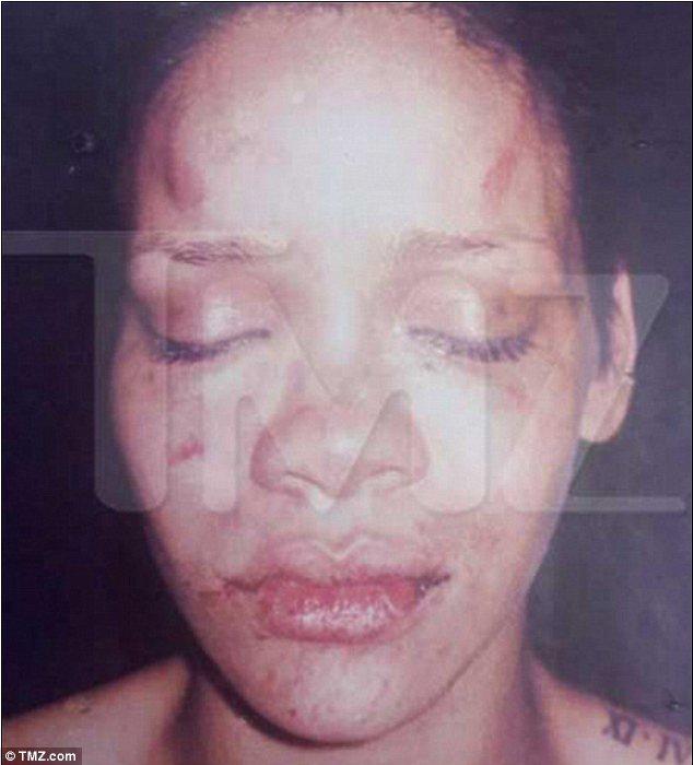 Chris Brown -  Deanna Gines - violenza 03