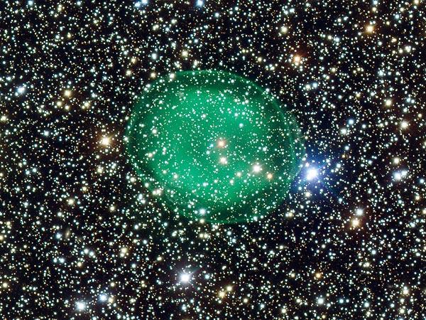 L'agonia di una stella morente nella costellazione dello Scudo: la foto della nebulosa IC 1295