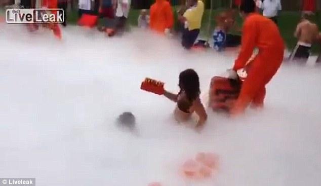 azoto liquido, piscina intossicazione 01