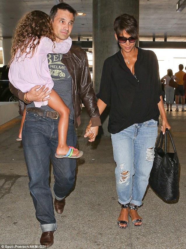 Halle Berry e Olivier Martinez sposi