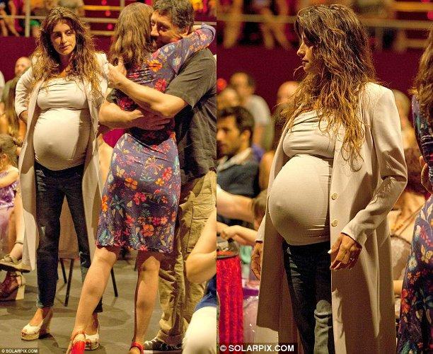 Penelope Cruz - incinta