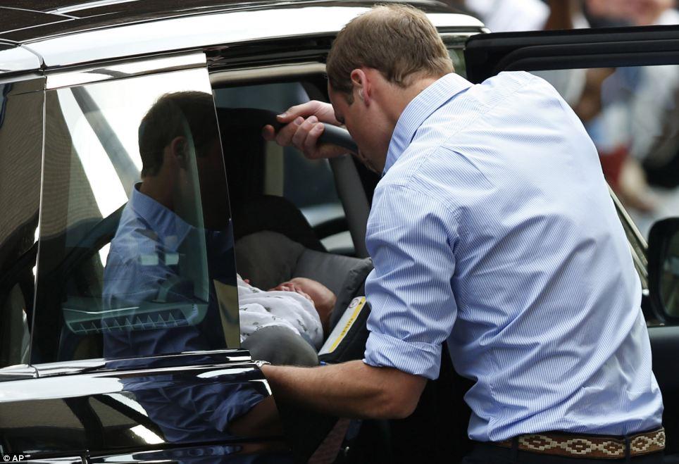 William,Kate,figlio