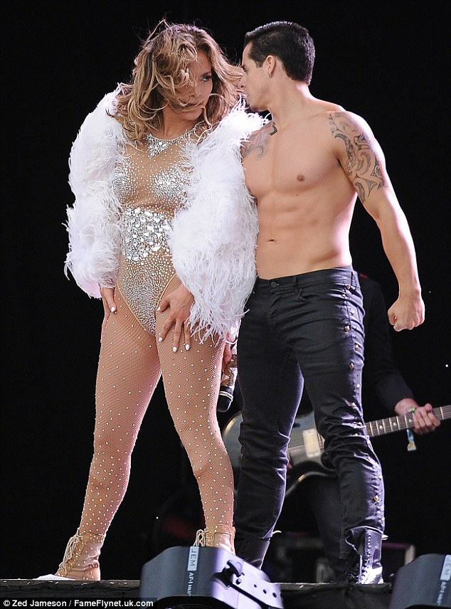 Casper Smart, fidanzata, Jennifer Lopez