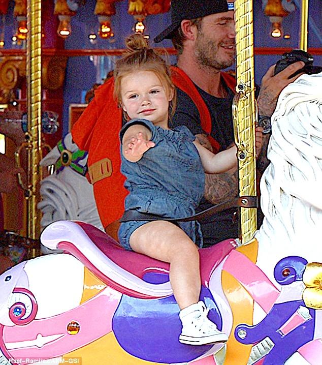 Disneyland,David Beckham,Victoria Beckham