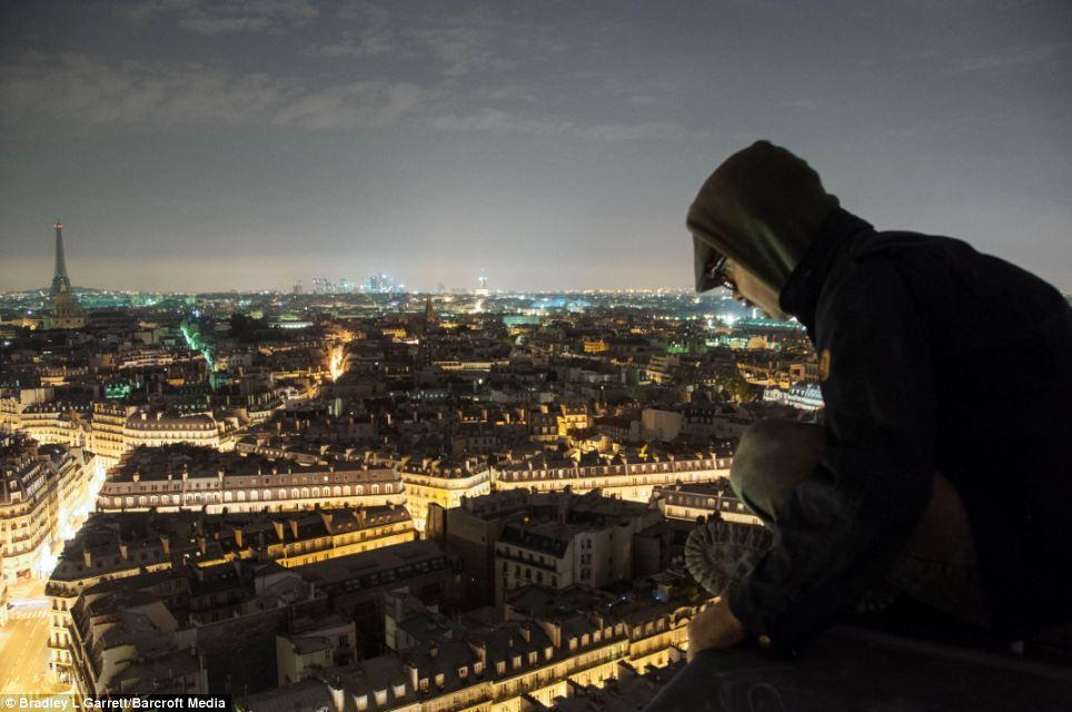 Urban Explorer, Bradley Garrett parigi