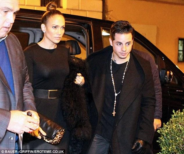 Jennifer Lopez,toyboy,Casper Smart
