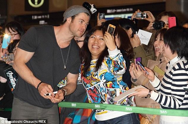 Chris Hemsworth, Thor