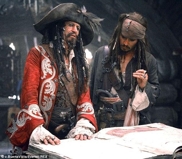 Johnny Depp - pirati