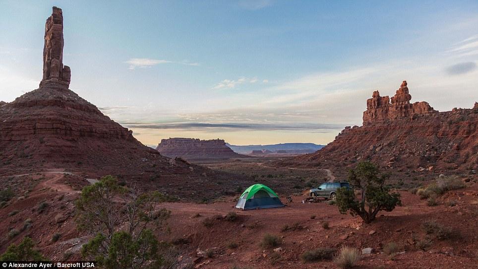 04 - America, paesaggi Valle degli Dei in Utah
