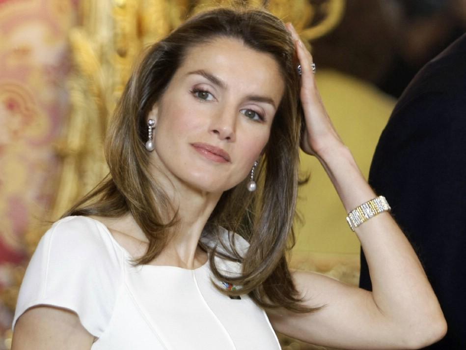 Letizia Ortiz, Re Juan Carlos, Spagna